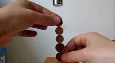 COINS BALANCE with neodymium magnets