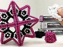 Tesseract Set 864 Colorfull Magnetic Balls