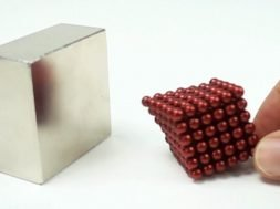 Slow Mo Magnets Collision in Slow Motion