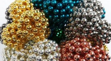 4800 Magnetic Balls Sculpture