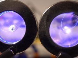 Plasma Vortex in a Magnetic Field