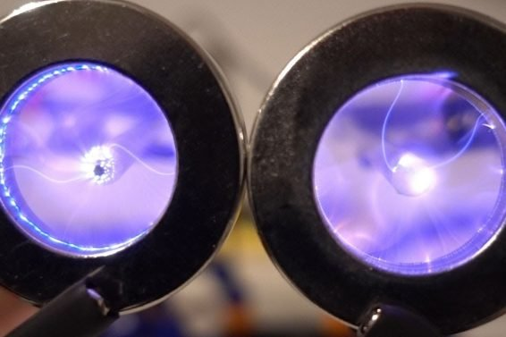 Plasma Vortex in a Magnetic Field