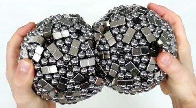 Destroying Magnetic Sculptures in Reverse