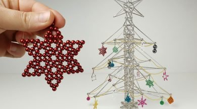 Christmas Tree made of Magnets