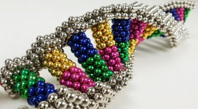 DNA Replication with Magnetic Balls