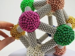Molecular Icosahedron made of Magnetic Balls, ASMR