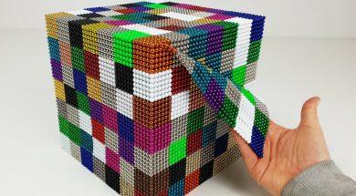 ASMR so many colorful Magnetic Balls
