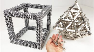 Magnet Satisfaction, Octahedron inside a CUBE