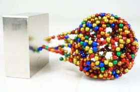 Monster Magnets VS Magnetic Sculptures in Slow Motion