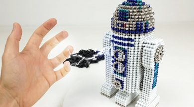 Star Wars R2-D2 out of Magnetic Balls