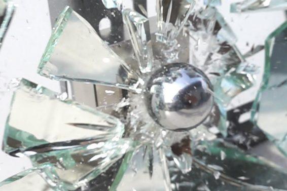 Magnet Smash in Slow Motion