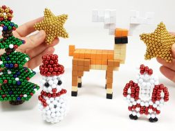 Christmas Decorations out of Magnets