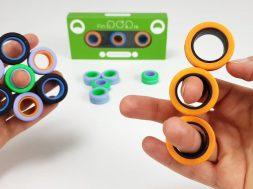 FinGears Magnetic Rings Fidget Toy