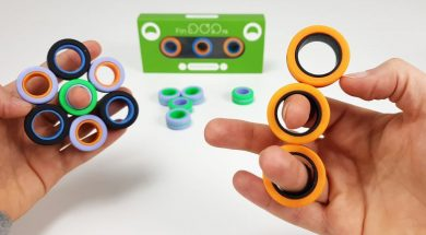 FinGears Magnetic Rings Fidget Toy
