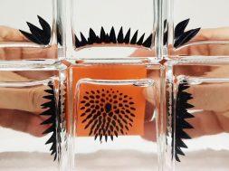 Ferrofluid in a bottle to view Magnetic Fields