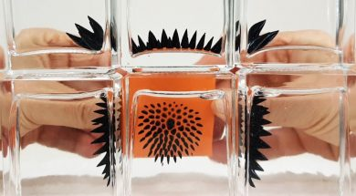 Ferrofluid in a bottle to view Magnetic Fields