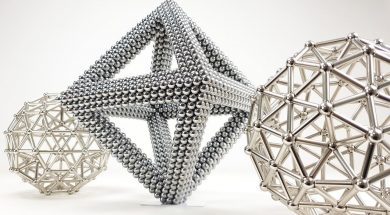 Another Way To Build Magnetic Sculptures