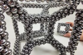 Hypercube out of Magnets