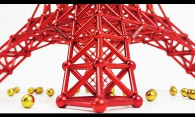 The_Tokyo_Tower_made_of_magnets